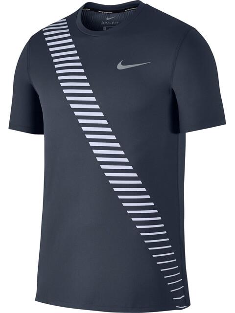 Nike Breathe Rapid Running SS Top Men thunder blue/pure platinum